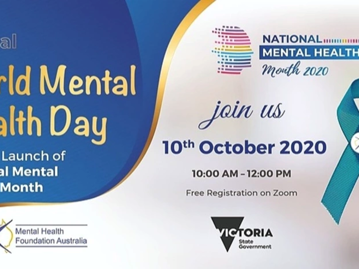 Official Launch National Mental Health Month 2020