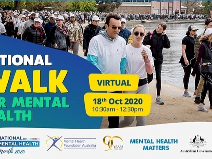 Walk for Mental Health - Victoria
